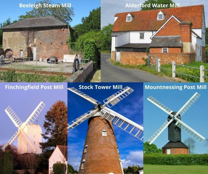Mills collage