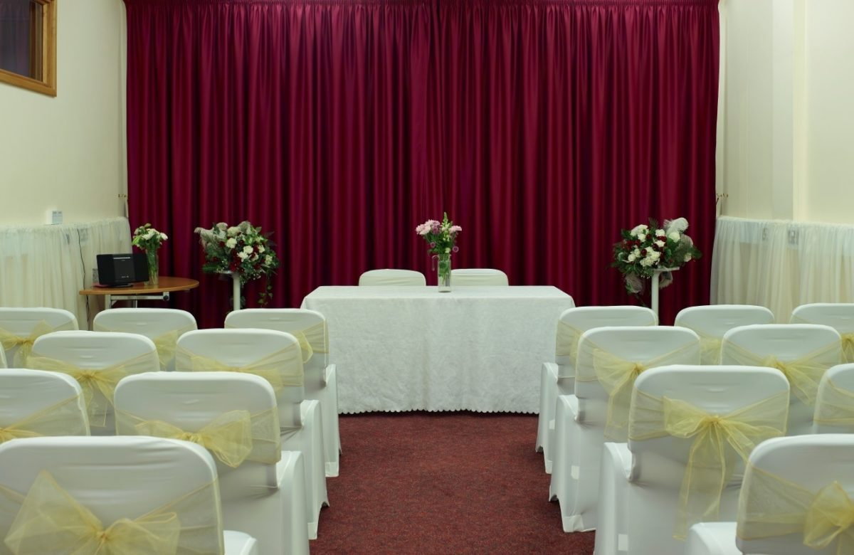 The wedding venue at Essex Record Office