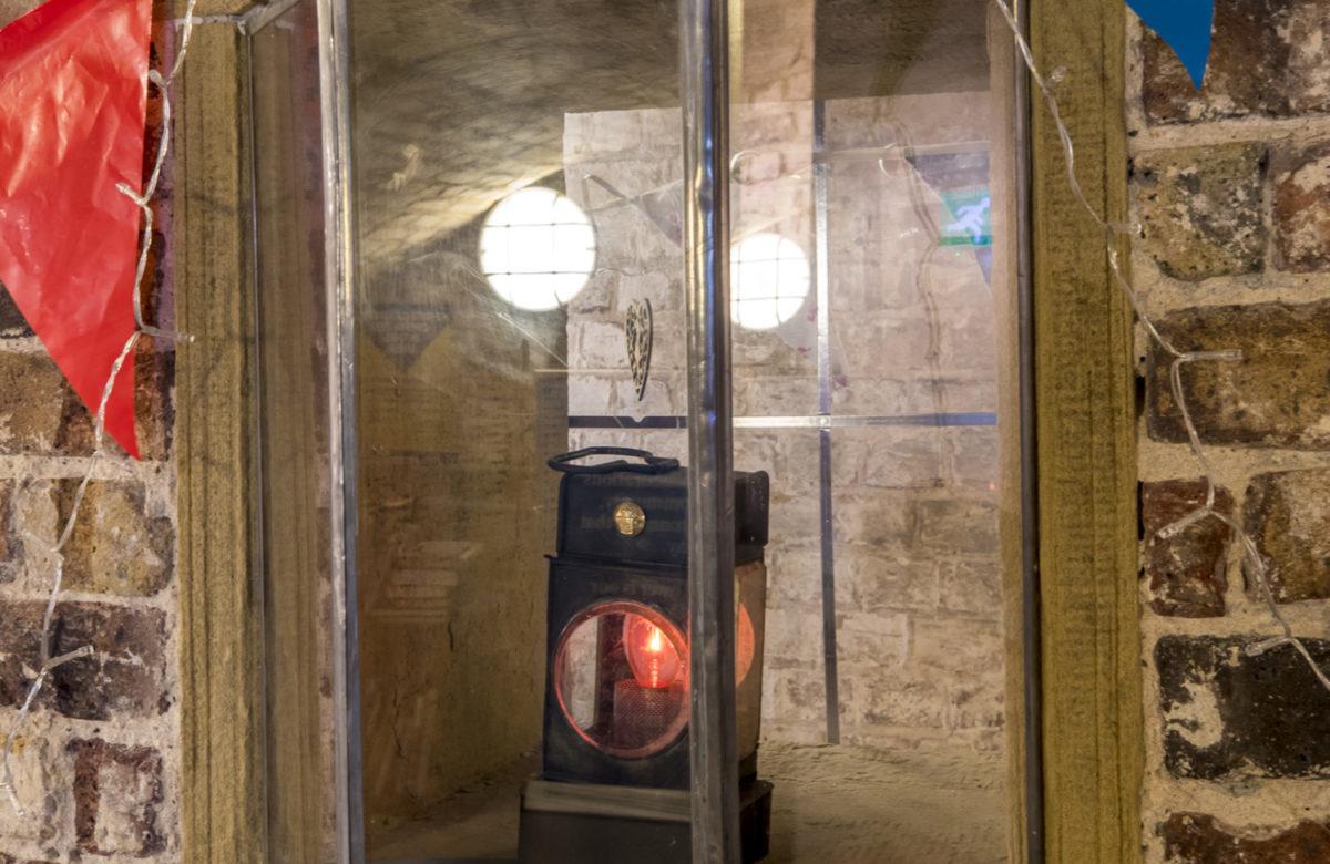 Art on display at Jaywick Martello Tower