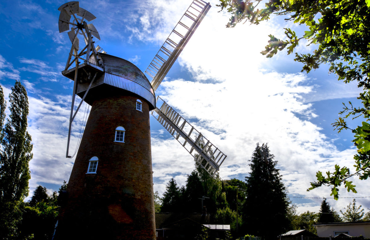 Stock Mill in sunshine