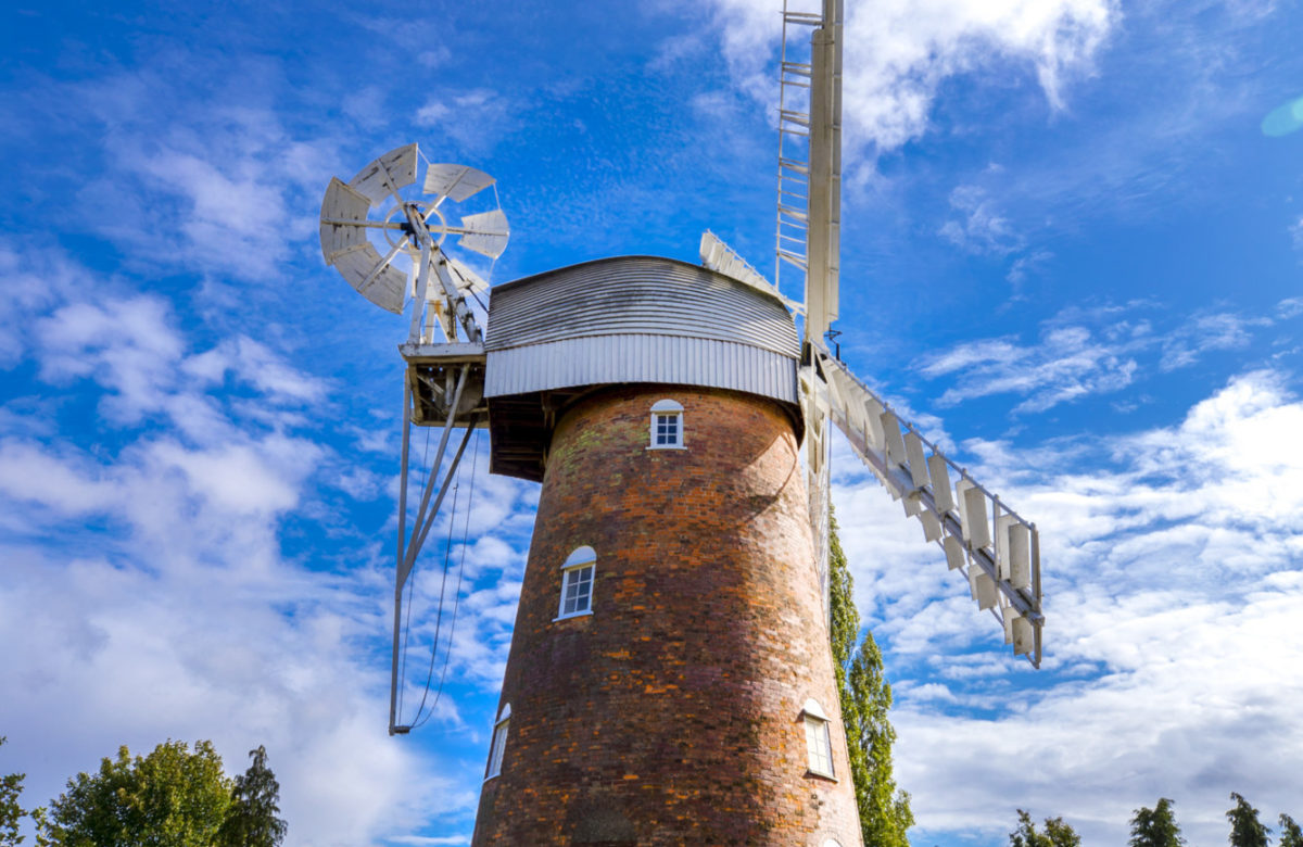 Stock Mill in summer