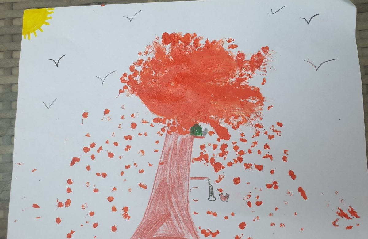 Entry by 9-year-old Thomas Major