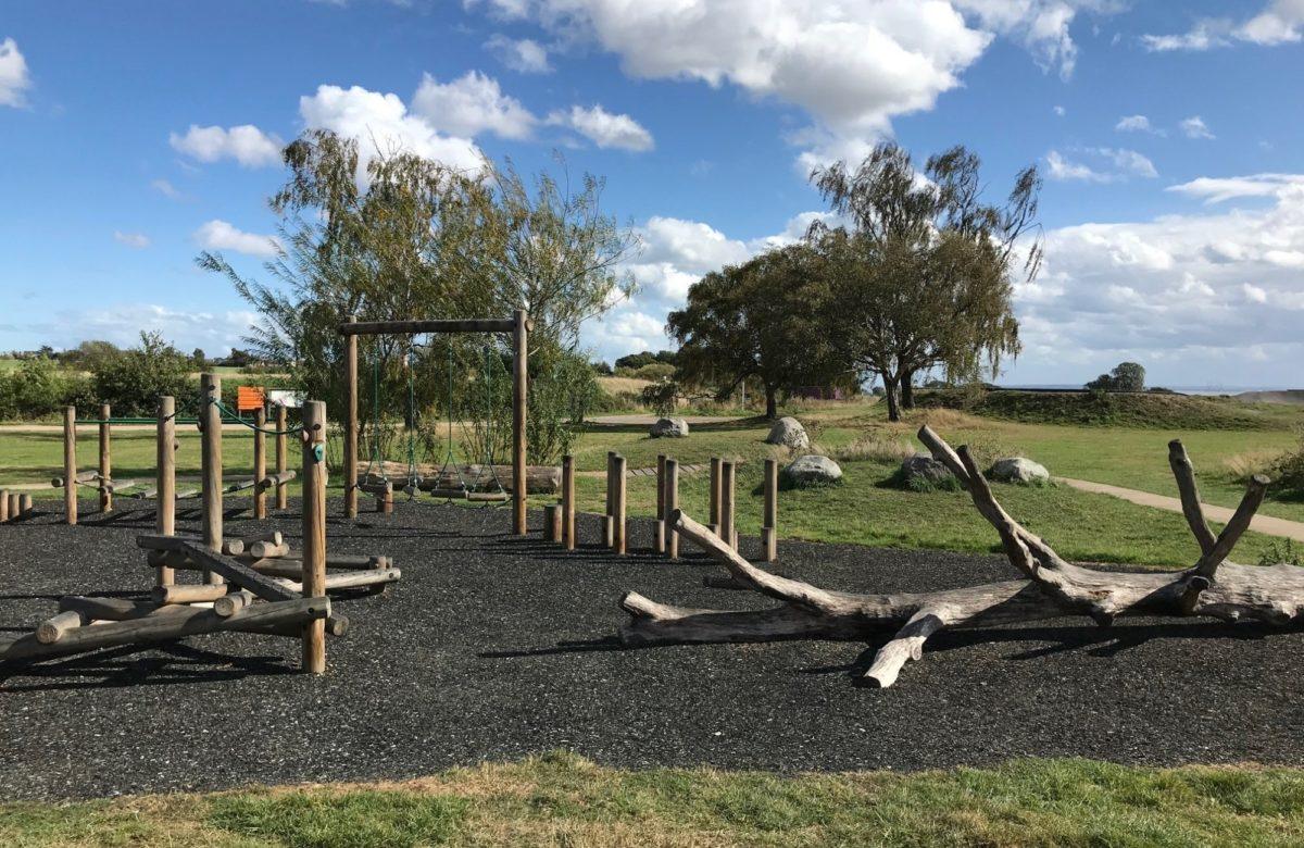 Wooden Kids Play at Hadleigh
