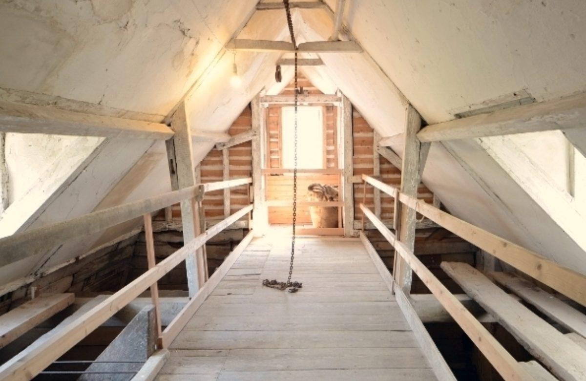 Alderford Water Mill interior