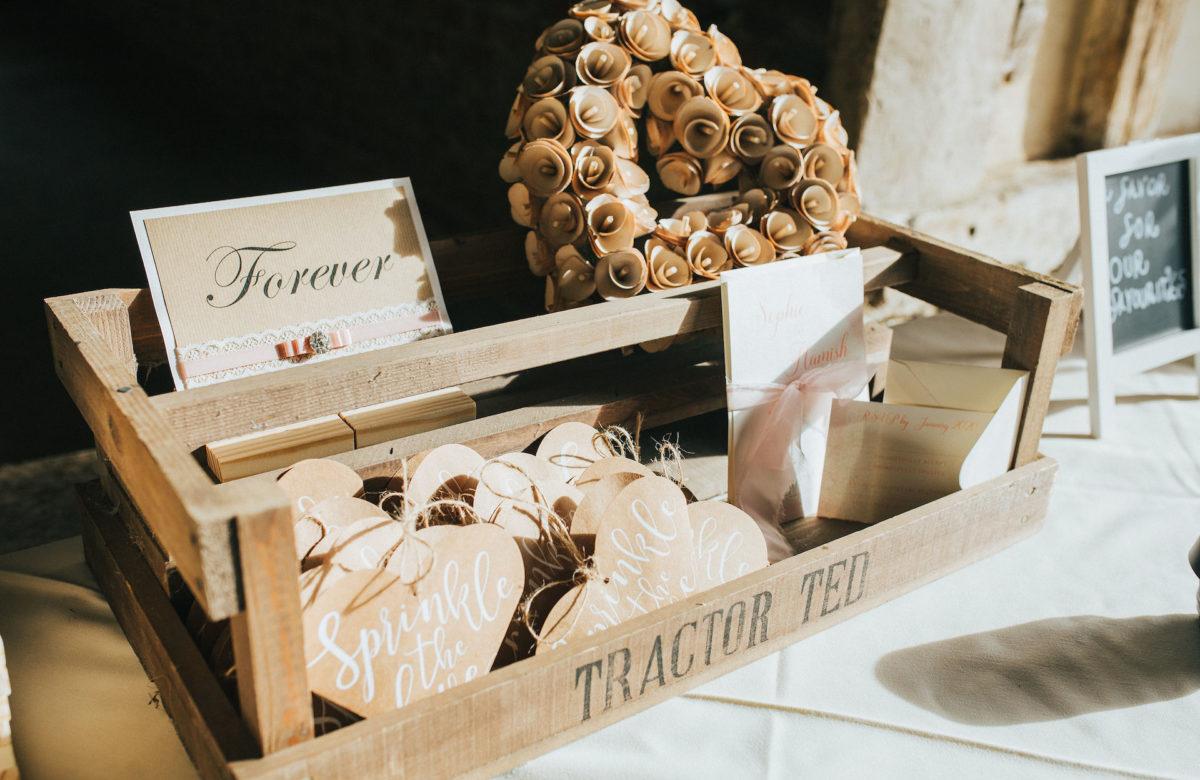 Wedding guest favours