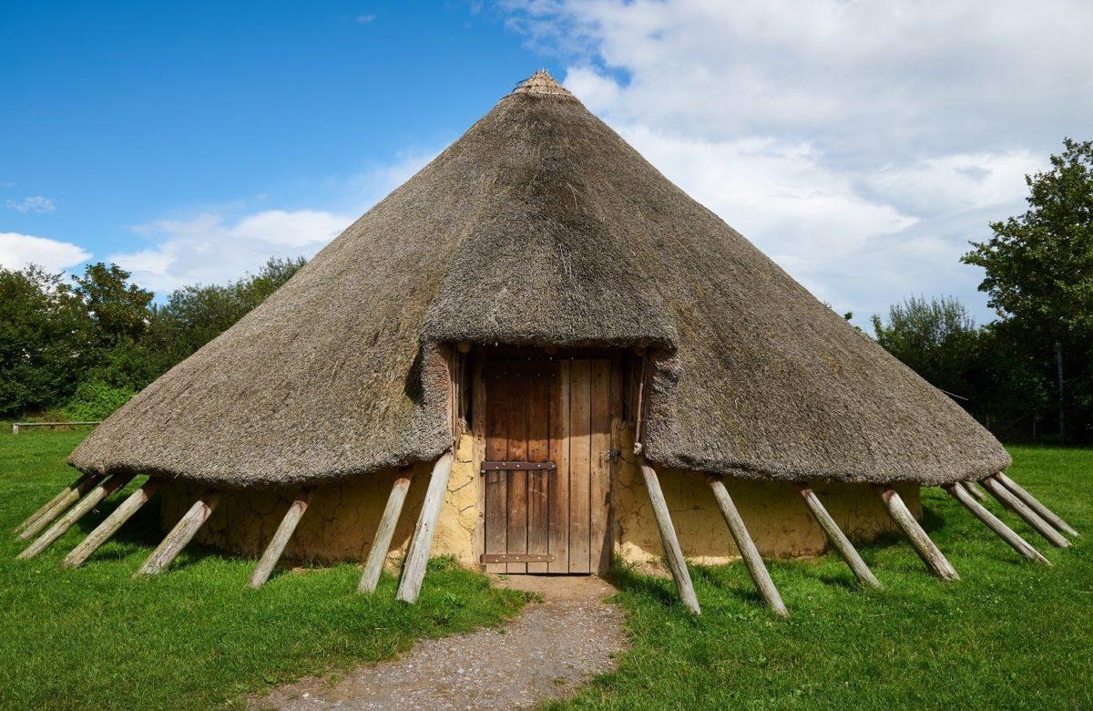 A medieval hut at Hadleigh