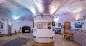 Inside Jaywick Martello Tower