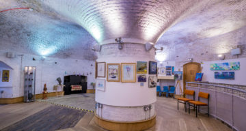 Inside Jaywick Martello Tower