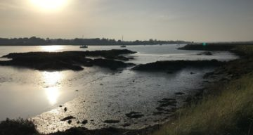 Low tide on the Crouch at Marsh Farm