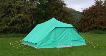 Patrol tent exterior 1