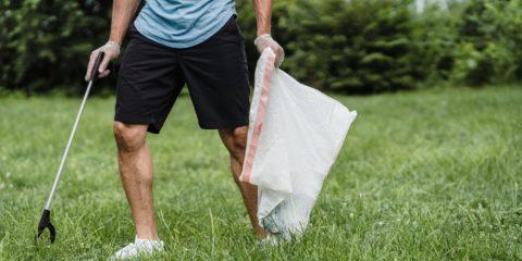 Litter picking 1