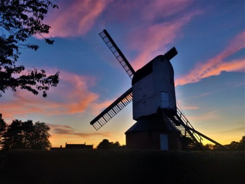 Mountnessing Sunset credit The Friends Of Mountnessing Windmill
