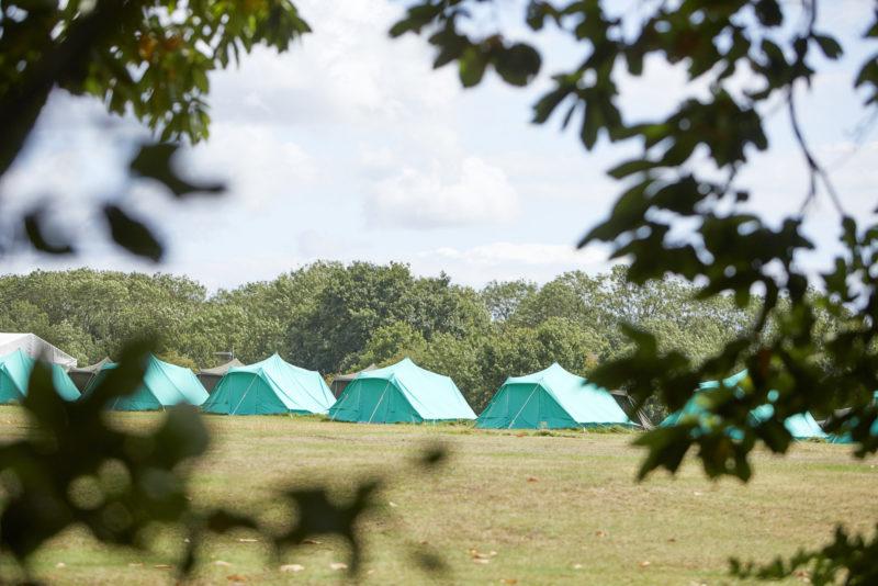 Campsite now open